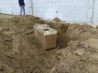 Silivri'de lahit mezar bulundu