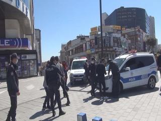 Esenyurt'ta Koronavirüs günlerinde polis her yerde