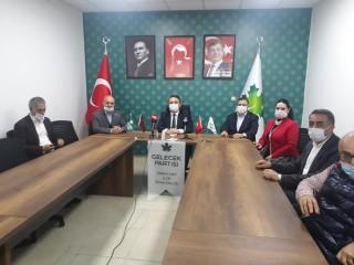 Gelecek Partisi İl Başkanı Şahin'den Başkan Veysel Karatay'a Ziyaret