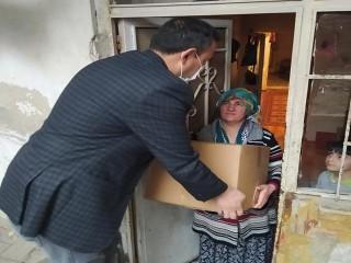 Muhtar Murat Cambaz; İhtiyaç Sahiplerini Mutlu Etti
