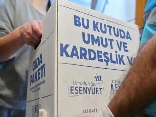 Esenyurt Belediyesi'nden 43 Bin Haneye Gıda Yardımı