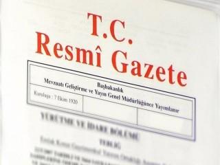 Vali atamaları Resmi Gazete'de yayınlandı
