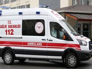Ambulans ekibine saldırdılar!