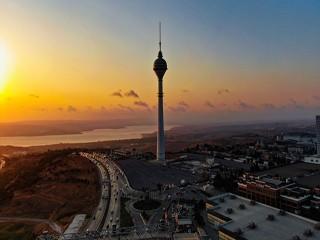 Büyükçekmece'deki Endem TV kulesi 12 yılda yalnızlığın kulesi oldu!