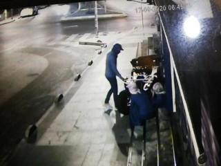 Esenyurt'ta hırsızlar ATV'yi böyle çaldı