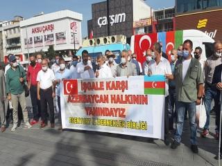 Esenyurt İl Dernekler Birliği'nden Azerbaycan'a Destek