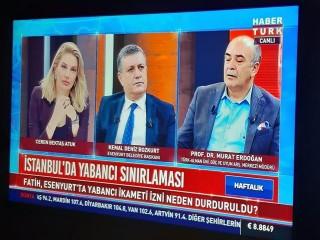 Başkan Bozkurt Habertürk'te Göçmen İkamet Yasağını Değerlendirdi