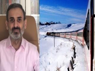 Doğan Şentürk, Doğu Ekspresi'ni Ardahan'a kadar götürme kampanyası başlattı