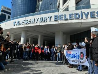 HİZMET-İŞ'ten Esenyurt Kaymakamı Karagül'e çağrı: Bu hizmeti belediye yapmalı!