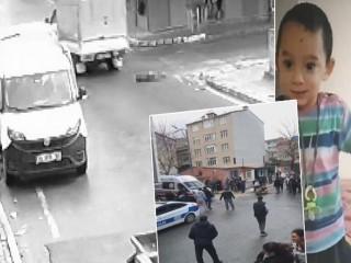 Avcılar'da kamyonetin çarptığı 4 yaşındaki çocuk öldü