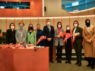 Başkan Bozkurt 8 Mart Dünya Emekçi Kadınlar Gününü Kutladı