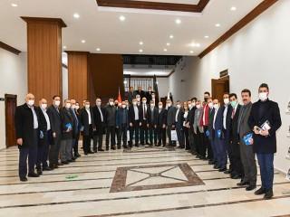 Başkan Bozkurt, Mahalle Muhtarlarıyla bir araya geldi
