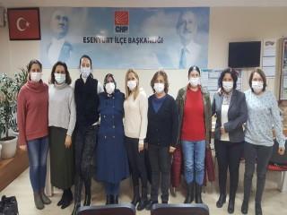 CHP Esenyurt ilçe Kadın Kolları'ndan 8 Mart Dünya Emekçi Kadınlar Günü Açıklaması
