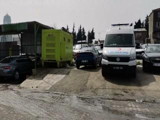 Esenyurt Belediyesi'nin hasta nakil aracına borç yüzünden haciz konuldu