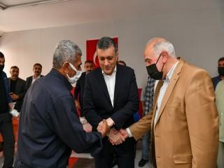 Başkan Bozkurt, Husumetli iki aileyi barıştırdı