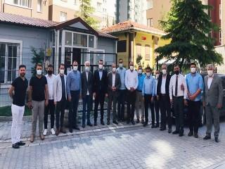 Esenyurt AK Parti'den muhtarlara ziyaret