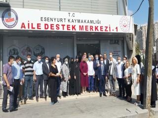 Esenyurt Kaymakamı Karagül, Aile Destek Merkezi Binasının Açılışı Yaptı