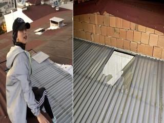 Esenyurt'ta sosyal medya için video çekerken çatıdan düştü