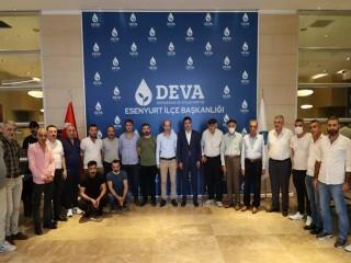 Van Çataklılardan Esenyurt DEVA'ya Tam Destek