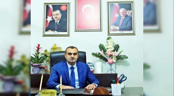 AK Parti İlçe Teşkilatı fes edildi