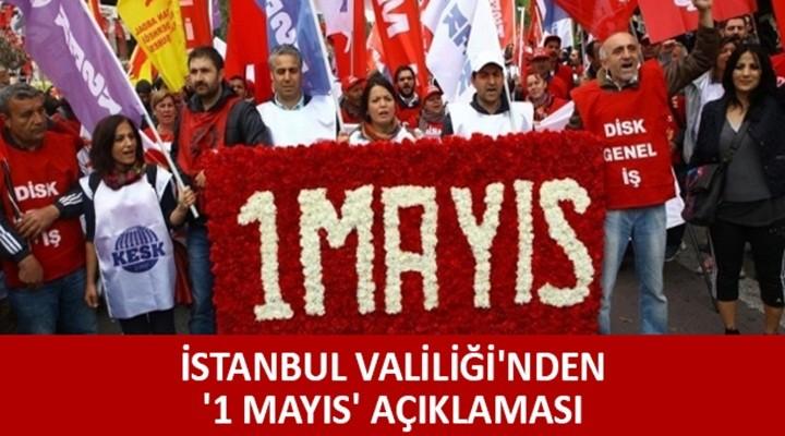 İstanbul Valiliği 1 Mayıs önlemlerini açıkladı