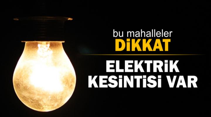 Esenyurt ve 7 ilçede Elektrik Kesintisi yaşanacak
