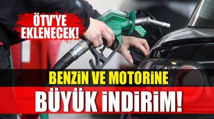 Benzin ve motorine indirim!
