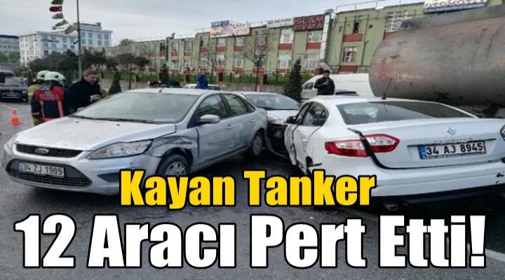 Kayan Tanker 12 aracı pert etti
