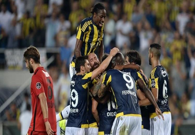 Fenerbahçe Eskişehirspor'u ilk yarının sonunda gelen gollerle 2-0 yendi