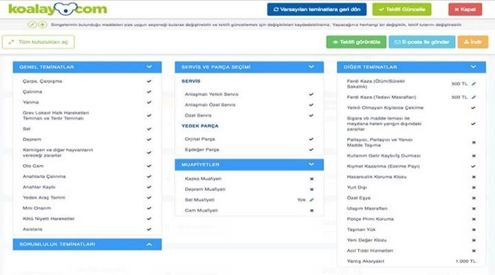 Koalay.com İle En Uygun Kasko ve Trafik Sigortası Teklifleri
