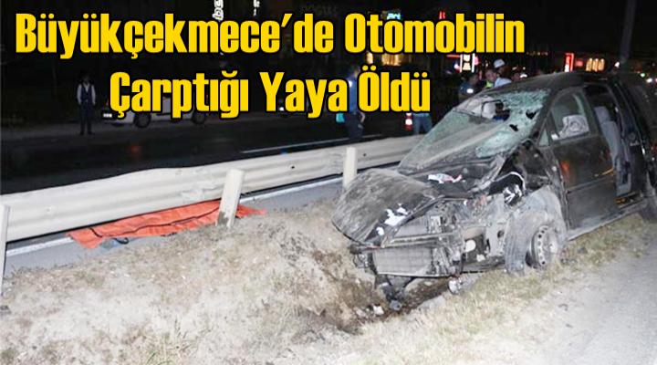 Büyükçekmece'de Otomobilin Çarptığı Yaya Öldü