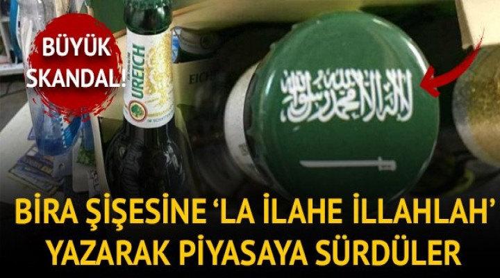 Alman bira firmasından skandal!