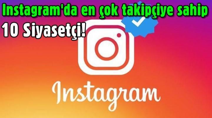 Instagram'da en çok takipçiye sahip 10 siyasetçi!