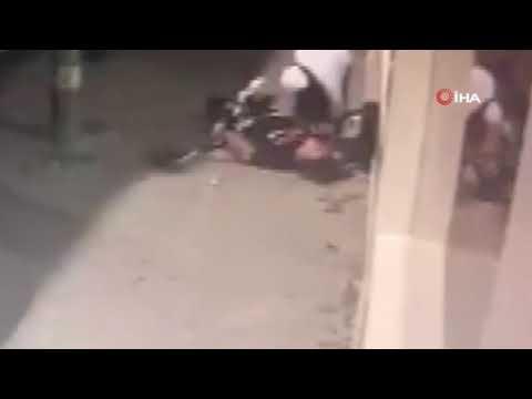 Esenyurt'ta kızların kavgası kamerada