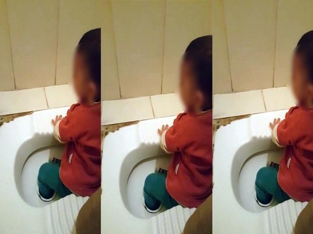 Esenyurt'ta tuvalet deliğine ayağı sıkışan çocuğu itfaiye kurtardı