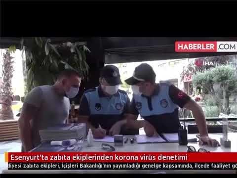 Esenyurt'ta Korona Virüs Denetimi