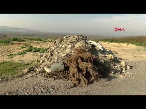 Büyükçekmece ve Arnavutköy'deki tarım alanlarını moloz ve çöple doldurdular
