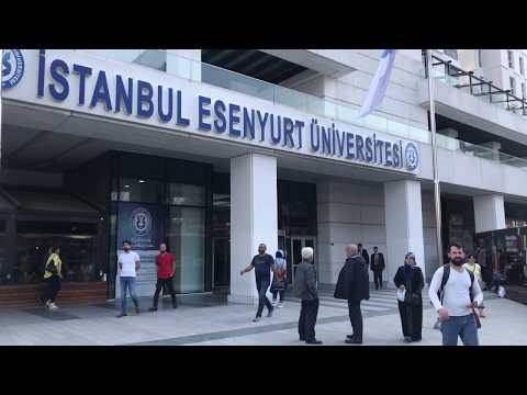 Esenyurt Üniversitesi ve yeni meydan görüntüleri