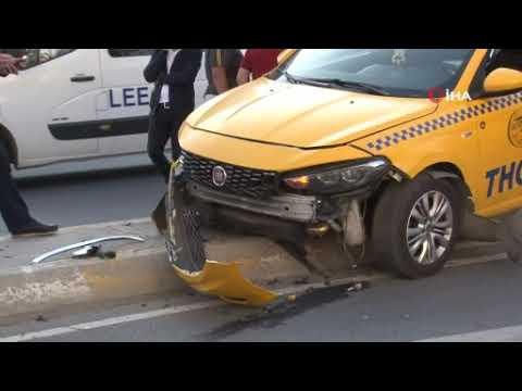 Esenyurt'ta Amerikan Vatandaşı Kadın Trafik Kazasında Yaralandı